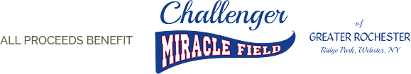 All proceeds benefit Challenger Miracle Field